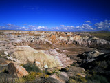 Blue Mesa Overlook, Petrified Forest National Park, Arizona, USA Photographic Print by Bernard Friel