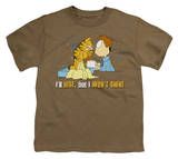 Youth: Garfield - I'll Rise T-shirts