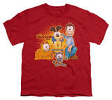 Youth: Garfield - Say Cheese T-shirts