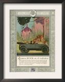 Buick, Magazine Advertisement, USA, 1920 Posters