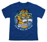 Youth: Garfield - Performing T-Shirt