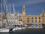 Marina and Waterfront, Birgu, Vittoriosa, Valletta, Malta Photographic Print by Walter Bibikow