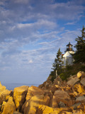 Bass Harbor Lighthouse in Acadia National Park, Maine, USA Stampa fotografica di Chuck Haney