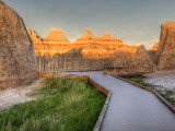 Northeast Entrance, Badlands National Park, South Dakota, USA Photographic Print by Jamie & Judy Wild