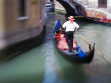 Selective Focus of Gondola in the Canals of Venice, Italy Photographic Print by Terry Eggers
