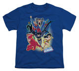 Youth: Justice League America - Unlimited T-shirts