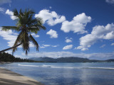 Playa Rincon Beach, Las Galeras, Samana Peninsula, Dominican Republic Photographic Print by Walter Bibikow