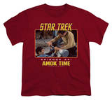 Youth: Star Trek Original - Amok Time T-Shirt
