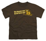 Youth: Garfield - To Know Me Is To Love Me T-shirts