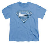 Youth: Superman - Tribal Chrome Shield T-shirts