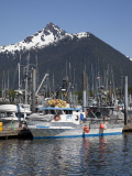 Boats at the Marina, Sitka, Alaska, USA Photographic Print by Douglas Peebles