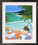 Lake View from the Terrace Print