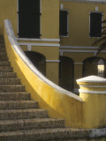 Customs House Exterior Stairway, Christiansted, St. Croix, US Virgin Islands Photographic Print by Alison Jones