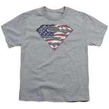 Youth: Superman - All American Shield T-shirts