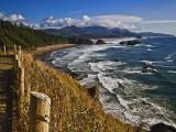 Coastline North of Cannon Beach, Ecola State Park, Oregon, USA Fotografisk trykk av Joe Restuccia III