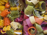Multi Colored Pasta, Torri Del Benaco, Verona Province, Italy Photographie par Walter Bibikow