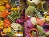 Multi Colored Pasta, Torri Del Benaco, Verona Province, Italy Fotografisk tryk af Walter Bibikow