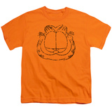 Youth: Garfield - Smirking Distressed T-Shirt