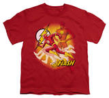 Youth: Justice League America - Lightning Fast T-shirts