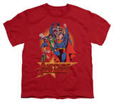 Youth: Justice League America - Raise Your Fist T-shirts