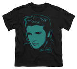 Youth: Elvis - Young Dots T-shirts