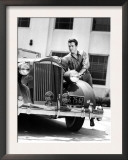 Robert Taylor and His Packard, 1930s Prints