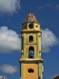 Beautiful Color Steeple in Church, Trinidad, Cuba Photographic Print by Bill Bachmann