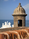 Lookout Tower at Fort San Cristobal, Old San Juan, Puerto Rico, Caribbean Photographic Print by Dennis Flaherty