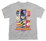 Youth: Justice League America - Hero Triptych T-shirts