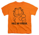 Youth: Garfield - Pull My Finger Shirt