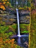 South Falls at Silver Falls State Park, Oregon, USA Fotografisk trykk av Joe Restuccia III