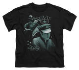 Youth: Elvis - Let'S Ride Shirt