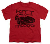 Youth: Knight Rider - Kitt Happens T-shirts