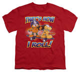 Youth: Garfield - How I Roll T-shirts