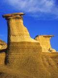 Hoodoos at Drumheller Alberta, Canada Photographic Print by Chuck Haney