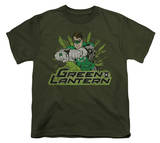 Youth: Justice League America - Gl Rough Distress T-shirts