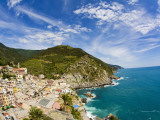 Hillside Town of Vernazza, Cinque Terre, Italy Photographic Print by Terry Eggers