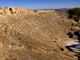 Historical 2Nd Century Roman Theater Ruins in Dougga, Tunisia, Northern Africa Photographic Print by Bill Bachmann