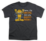 Youth: Garfield - Smiling T-Shirt