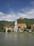 Castle, Danube River, Durnstein, Wachau Valley, Austria Photographic Print by Jim Engelbrecht