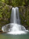 Waiau Waterfall Near 309 Road, Coromandel Peninsula, North Island, New Zealand Photographic Print by David Wall