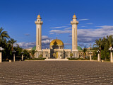 Bourguiba Mausoleum Grounds in Sousse, Monastir, Tunisia Photographic Print by Bill Bachmann