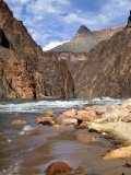 Looking Up River From Below Hance Rapid, Grand Canyon National Park, Arizona, USA Photographic Print by Bernard Friel