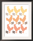 Orange Chicken Family Posters by  Avalisa