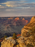 Grand Canyon From the South Rim at Sunset, Grand Canyon National Park, Arizona, USA Photographic Print by Adam Jones
