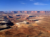 Canyonlands National Park From Island in the Sky, Green River, Turks Head, Utah, USA Photographic Print by Bernard Friel