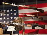 Display of Us Military Weapons, National World War Two Museum, New Orleans, Louisiana, USA Photographic Print by Walter Bibikow
