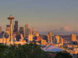 Skyline From Kerry Park, Seattle, Washington, USA Photographie par Jamie &amp; Judy Wild