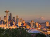 Skyline From Kerry Park, Seattle, Washington, USA Fotodruck von Jamie & Judy Wild