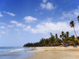 View of Luquillo Beach, Puerto Rico, Caribbean Photographic Print by Dennis Flaherty